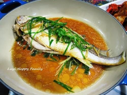 Luyi Happy Family: LC 無水蒸 - 清蒸黃花魚