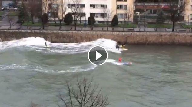 surfeando urumea