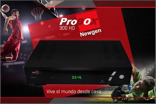 PROBOX 300 HD NOVA ATUALIZAÇÃO V1.10 - 13/03/17 PROBOX%2BPB300