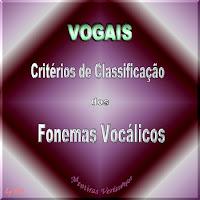 Figura mostrando uma boca estilizada indicando a importância dos Fonemas vocálicos e seus critérios de classificação.Classificando as vogais