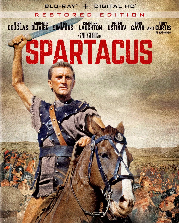 A Man Apart Blu Ray Upc: SPARTACUS: Restored Edition Blu-ray (Universal/Bryna