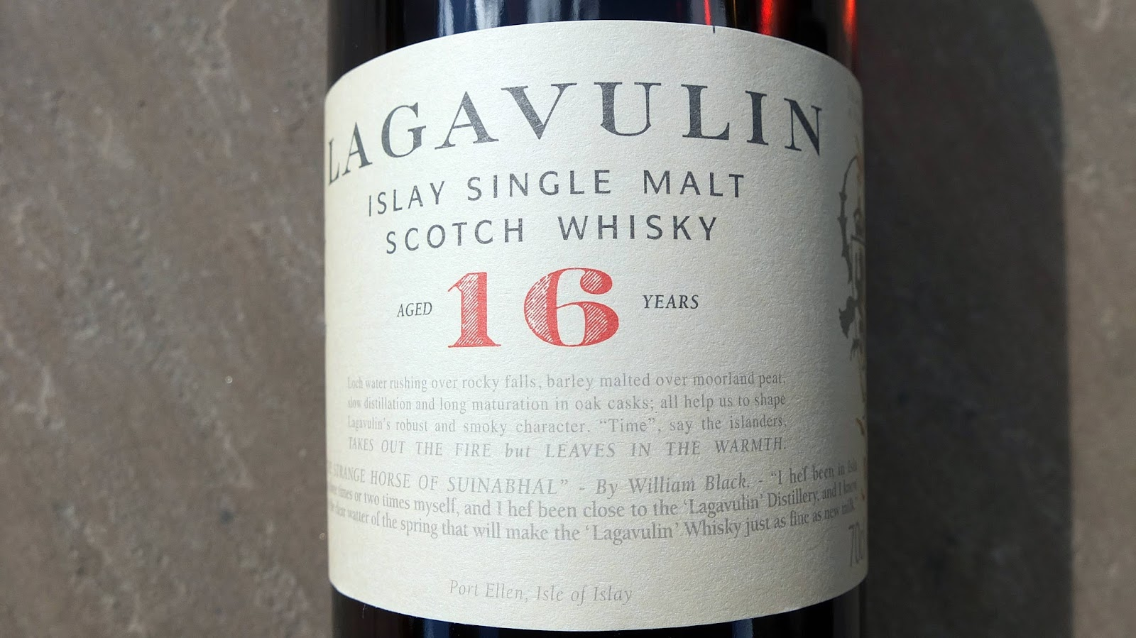 how to drink lagavulin 16