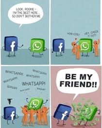 Whatssap Dan Facebook Telah Mendekatkan Perhubungan....
