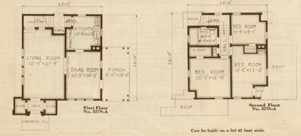 Elegant sears cedars original floor plan