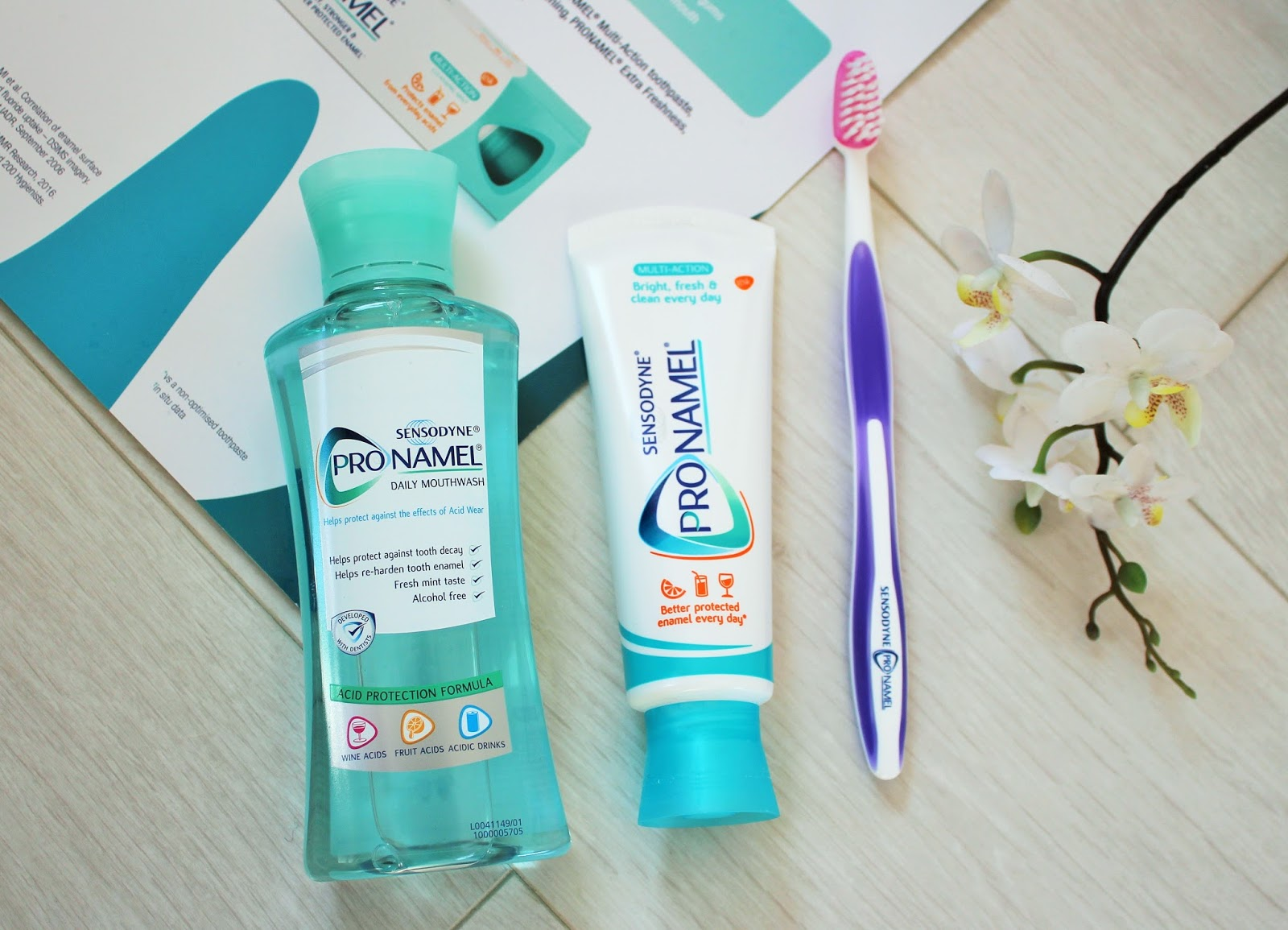 Protect your smile with Sensodyne Pronamel - 2