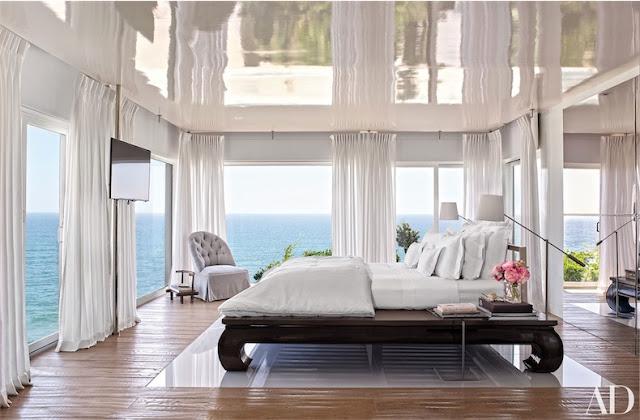 dormitorio con vistas decorado en blanco chicanddeco