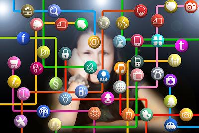 prilaku anak dimedia sosial