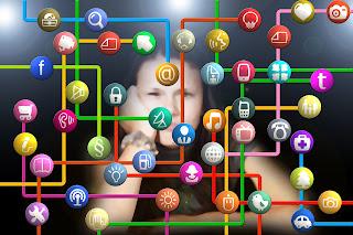 anak-anak jika sering membuka media sosial