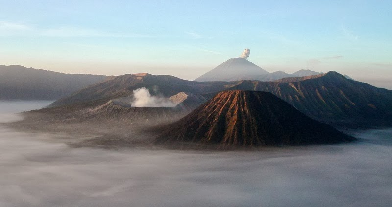 Mount Bromo and Mount Semeru, East Java, Indonesia - Top 10 Stunning Volcanoes Around the World