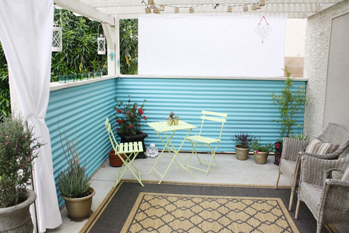 patio design for small spaces
