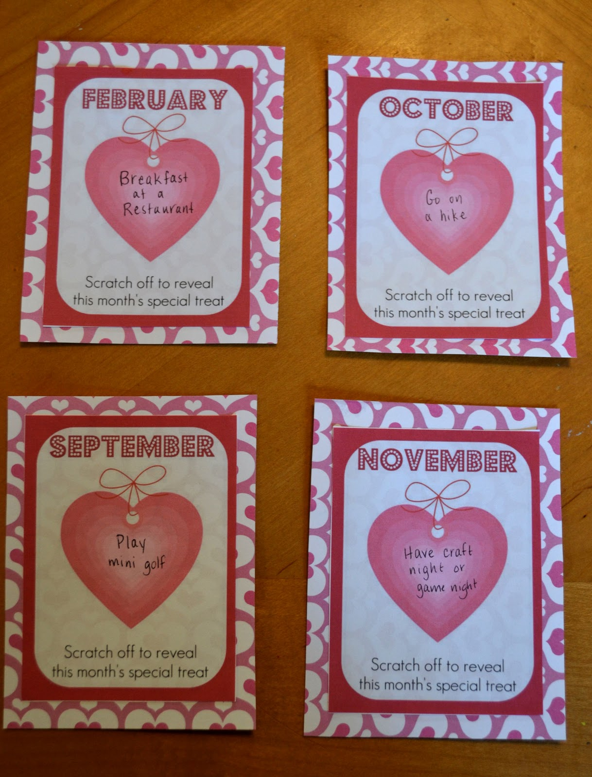 Come Together Kids A Year Of Valentines With Diy Scratch Offs
