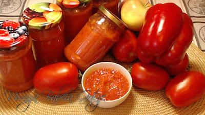 Pikantny Sos Pomidorowy na Zimę