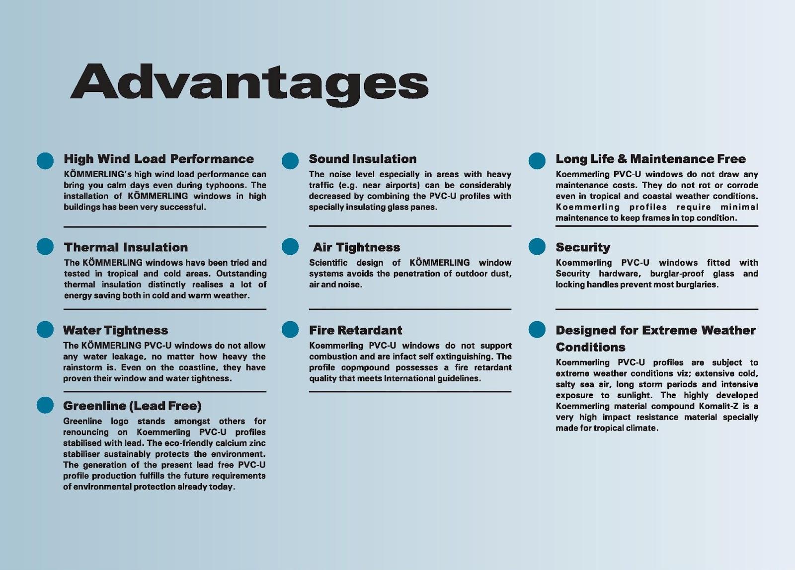 Advantages of windows 7