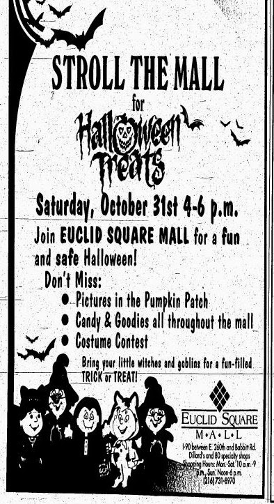 Euclid Evolution: Halloween in Euclid From the 1940's and