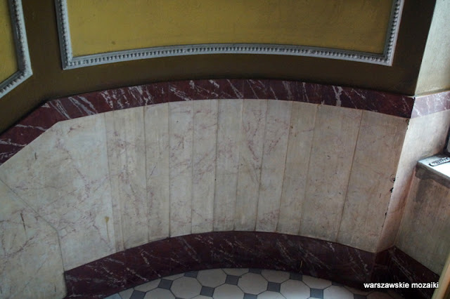 Warszawa Warsaw kamienica Praga Północ Adolf Dybicz Karol malowidła stuletnia kamienica klatka schodowa