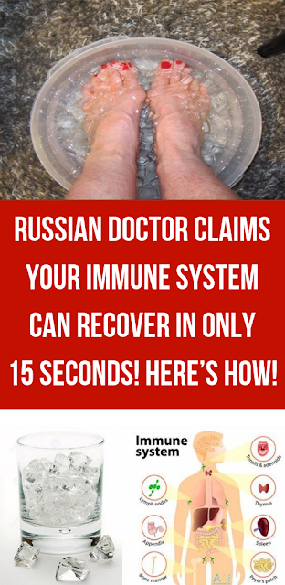 Russian Doctor Claims Your Immune System Can Recover In Only 15 Seconds! Here's How!