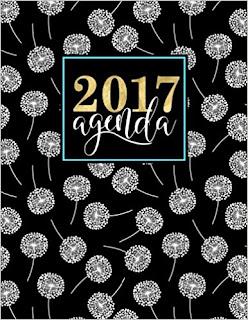 Agenda: Papeterie Bleu Agenda 2017 Semainier PDF