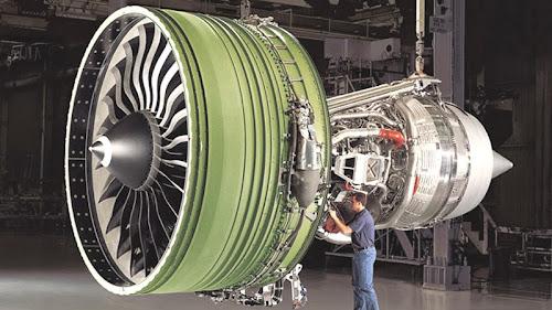 Maior turbina de avião do mundo