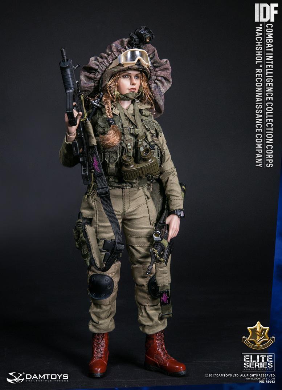 IDF COMBAT INTELLIGENCE 1//6 Dam Toys TV 7711 Tactical Combat Vest