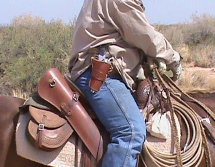Functional Horsemanship Holsters For Horseback
