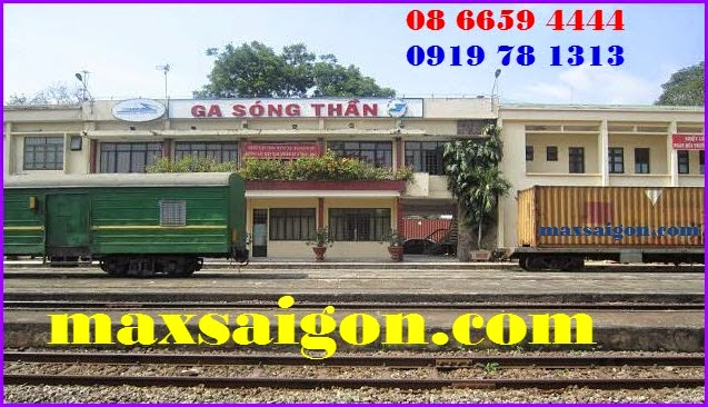 Dịch vụ vận chuyển hàng hóa bằng đường sắt ga Sóng thần - Max Sài Gòn