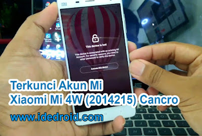Remove Mi Account Xiaomi Mi 4W 2014215 Cancro 100% Tested