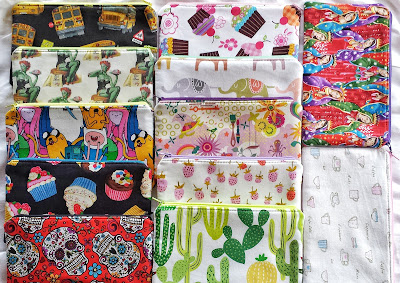 refabulous fabric fast, no buying fabric in 2018, zippy pouches