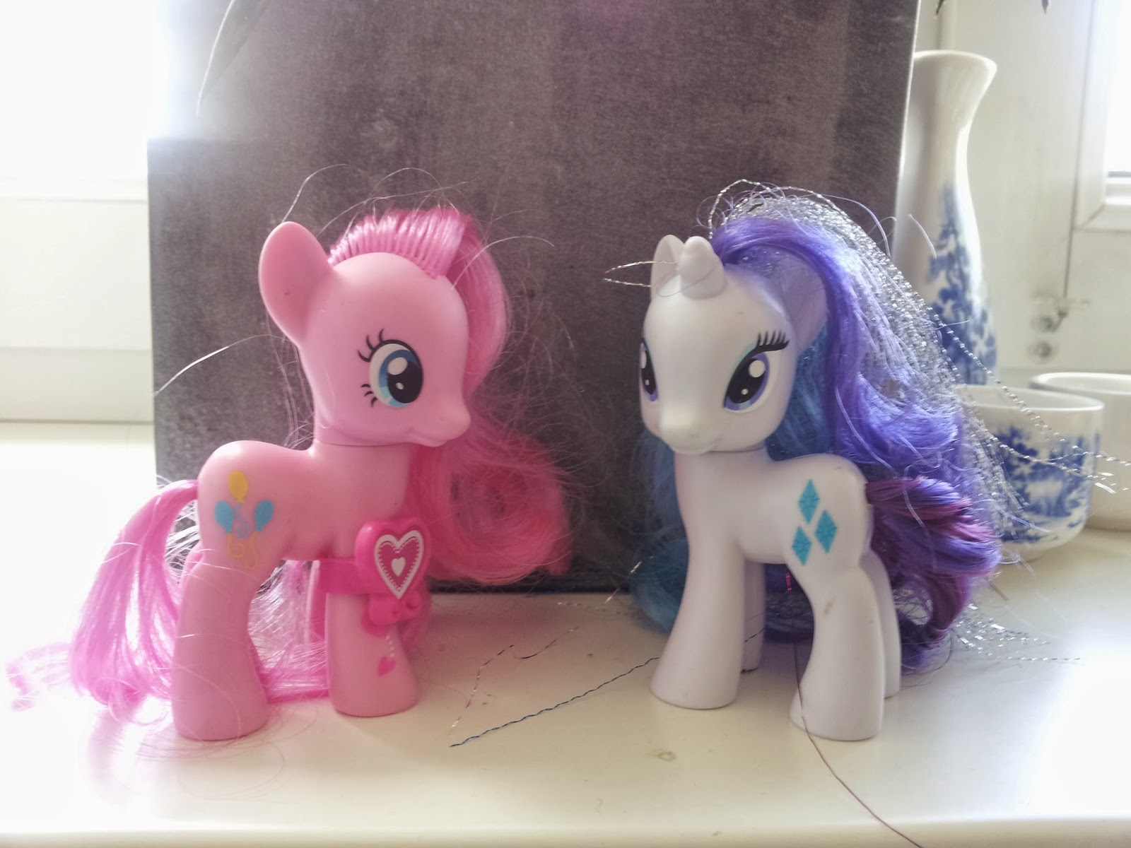 Pinkie Pie and Rarity Brushables
