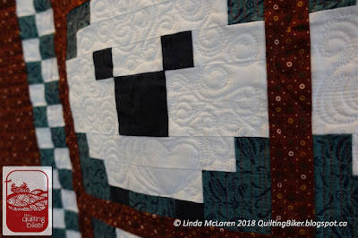 Sheep quilt - another close up view