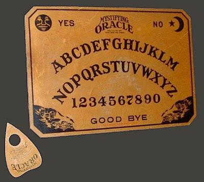 Η μυστηριώδης προέλευση του πίνακα Ouija