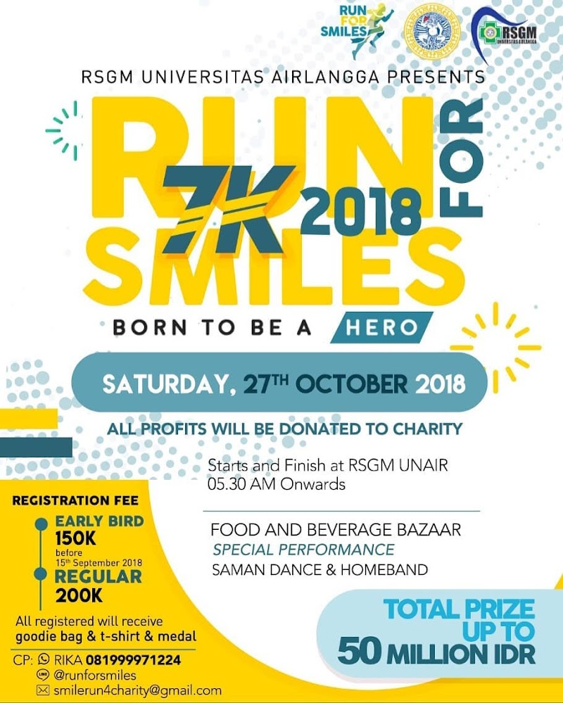 Run For Smiles • 2018