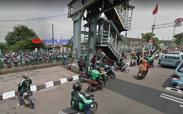 Lokasi Penjemputan Ojek Online di Stasiun Pasar Minggu