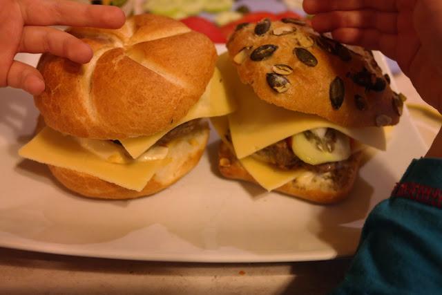 przepis na zdrowe hamburgery