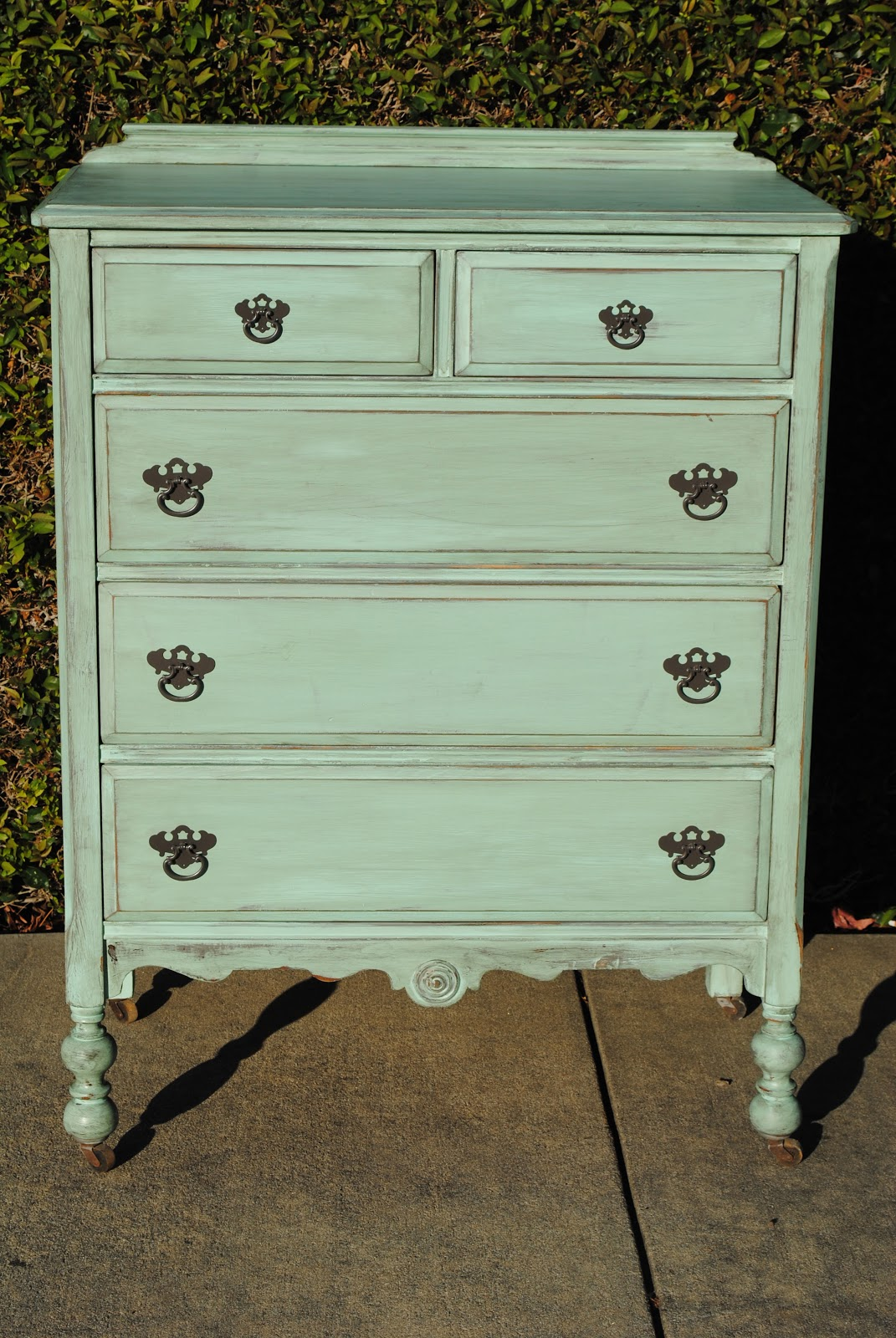 Just As Lovely... Upcycled Furniture: Mint Green Shabby ...