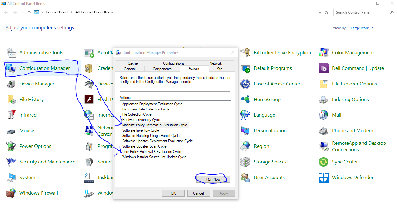 System Center Configuration Manager 2012 R2 : SCCM Client