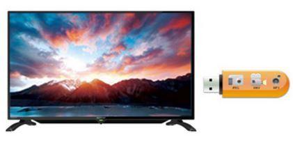 Multimedia Player USB Sharp Aquos LC-32LE185i 32 Inch