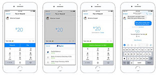 Send/Receive Paypal fund on Messenger