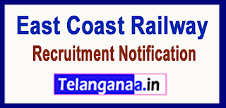 East Coast Railway Recruitment Notification 2017 Last Date 17-06-2017