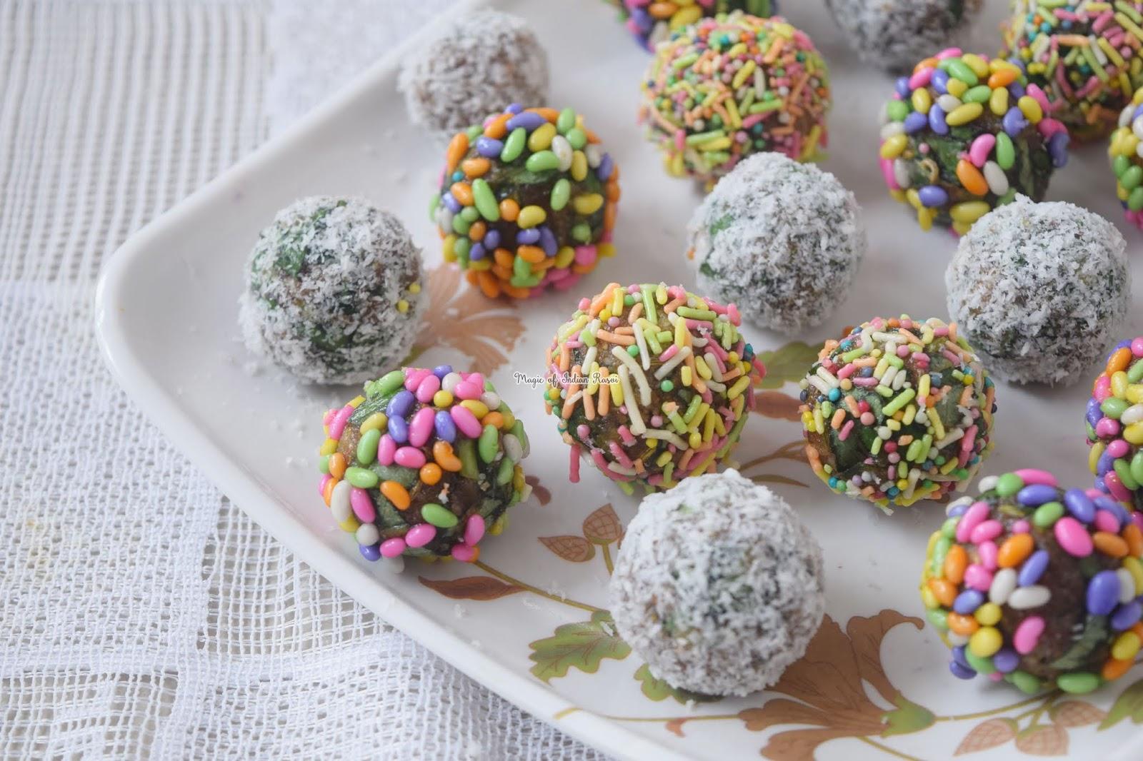 Khajoor Paan Balls - Khajur Paan ki Mithai Recipe - 4