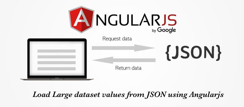 Load Large dataset values from JSON using Angularjs