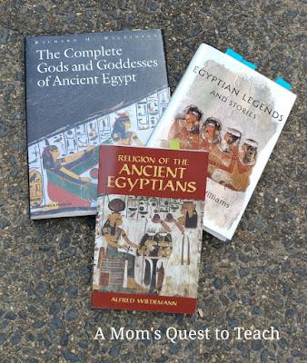 Three Egyptian History Books
