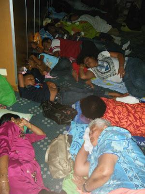 Fijians asleep