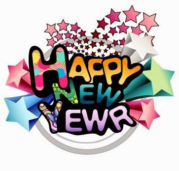 Happy New Year 2016 Vector Clip Art Images 3D