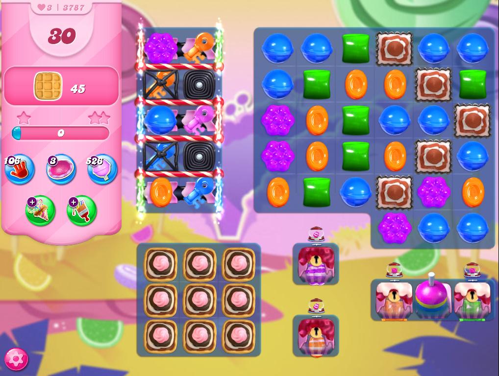 Candy Crush Saga level 3787
