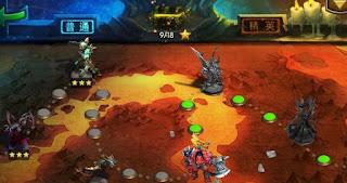 تحميل لعبة هيروس اند تاينتس Heroes and Titans للموبيل اندرويد وايفون