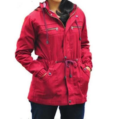 macam macam model jaket wanita