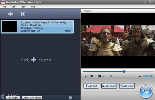 WonderFox Video Watermark Full Version Main Windows