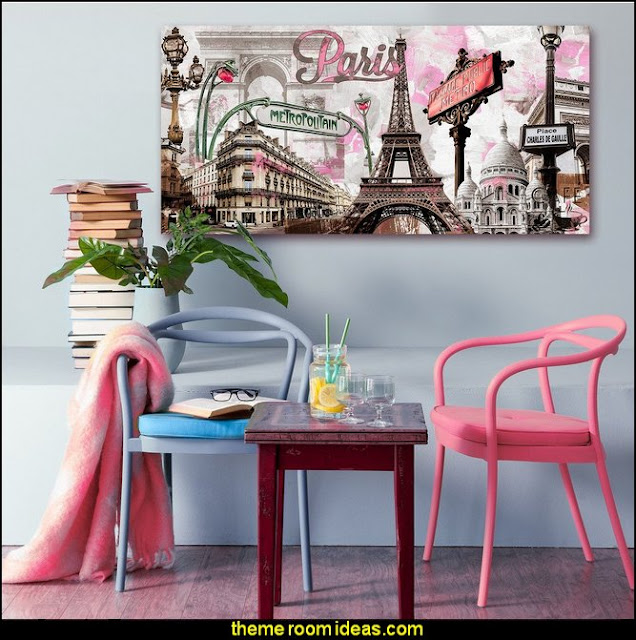 Paris themed bedroom ideas - Paris style decorating ideas - Paris themed bedding - Paris style Pink Poodles bedroom decorating - French theme Paris apartment furniture - Paris bedroom decor - decor Paris style French Poodles - room decor french poodle -