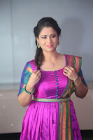Shilpa Chakravarthy in Purple tight Ethnic Dress ~  Exclusive Celebrities Galleries 027.JPG
