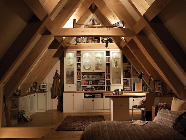 Daripada Jadi Sarang Tikus! Berikut 7 Design Kamar Dari Loteng Rumahmu Menjadi Menyenangkan